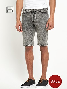 river-island-mens-acid-wash-shorts