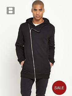 river-island-mens-asymmetric-zip-hoodie