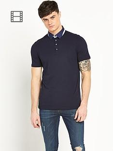 river-island-mens-short-sleeve-polo-shirt