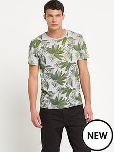 river-island-mens-short-sleeve-cream-palm-print-t-shirt