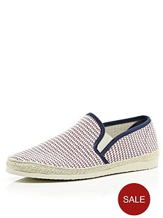 river-island-espadrille-woven-shoes
