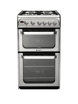 hotpoint-ultima-hug52x-50cm-gas-cooker-with-fsd-stainless-steel