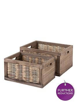 set-of-2-wooden-crates-with-split-willow-sides
