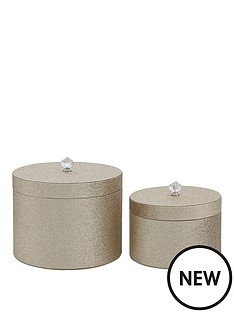glitter-set-of-2-round-lidded-boxes-champagne
