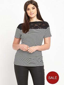 so-fabulous-stripe-lace-shoulder-t-shirt
