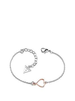 guess-rhodium-and-rose-gold-plated-heart-logo-bracelet