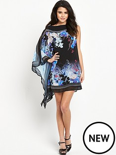 lipsy-night-orchid-print-ruffle-side-shift-dress