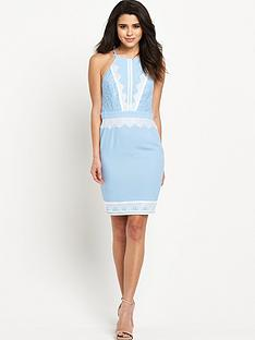 lipsy-lace-apron-neck-dress