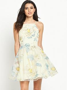 chi-chi-london-london-floral-print-full-skater-dress