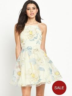 chi-chi-london-london-floral-print-full-skater-dress