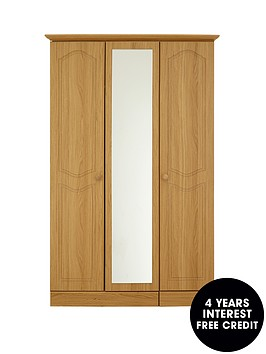 consort-hudson-3-door-mirrored-wardrobe