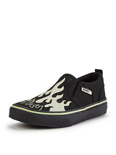 vans-vans-asher-glow-slip-on-junior-children