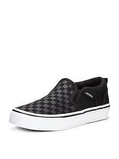 vans-vans-asher-slip-on-checkerboard-children