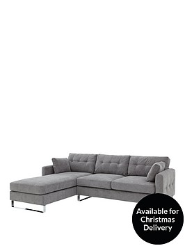 faro-3-seater-left-hand-fabric-corner-chaise-sofa