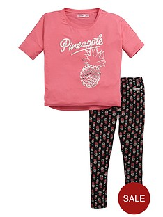 pineapple-pineapple-older-girls-tee-and-legging-set