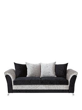 Very Zulu 3-Seater Fabric Sofa Picture