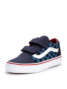 vans-vans-old-skool-v-checkerboard-children