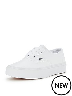 vans-vans-authentic-junior-leather-children