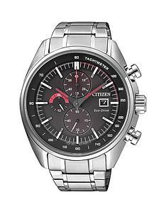citizen-citizen-eco-drive-sport-black-dial-chronograph-stainless-steel-bracelet-mens-watch