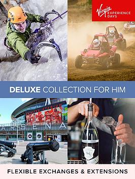 Virgin Experience Days Virgin Experience Days Deluxe Collection For Him  ... Picture