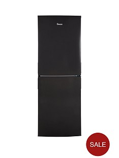 swan-sr9081b-55cm-wide-fridge-freezer-black