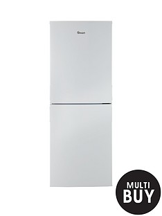 swan-sr9091w-55cm-wide-frost-free-fridge-freezer-white