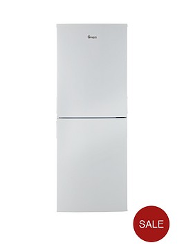swan-sr9091w-55cm-wide-frost-free-fridge-freezer-white