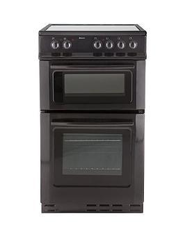 swan-sx2021b-50cm-wide-ceramic-twin-cavity-freestanding-electric-cooker
