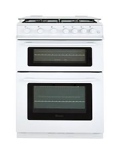 swan-sx2061w-60cm-wide-freestanding-double-oven-gas-cooker