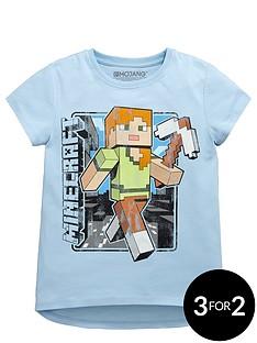 minecraft-vintage-alex-girls-t-shirt