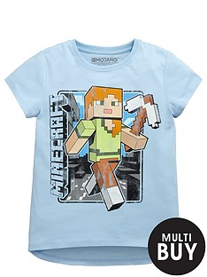 minecraft-vintage-alex-girls-t-shirt