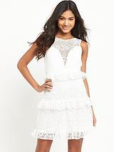 Frill Lace Dress