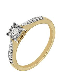 the-astral-diamond-the-astral-diamond-9ct-yellow-gold-23-point-diamond-cluster-ring-with-stone-set-shoulders