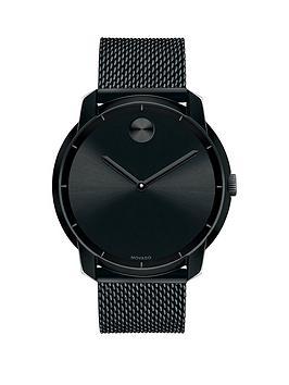 movado-movado-bold-black-dial-44mm-black-mesh-bracelet-mens-watch