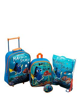 finding-nemo-4-piece-luggage-set