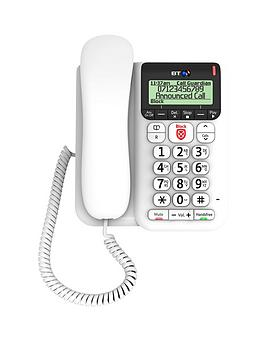 BT  Bt DÉCor 2600 Telephone With Call Guardian And Answering Machine