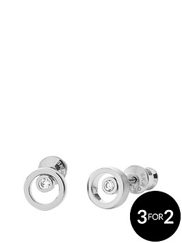 skagen-elin-stainless-steel-crystal-circle-stud-earrings