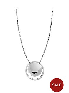 skagen-elin-stainless-steel-circle-pendant