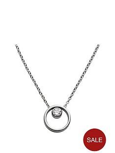 skagen-elin-stainless-steel-crystal-circle-pendant