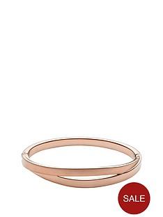 skagen-elin-rose-gold-plated-hinged-bangle