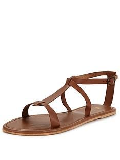 v-by-very-emma-leather-flat-sandal