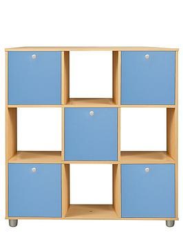 Kidspace Miami 3 X 3 Cube Storage And Shelf Unit