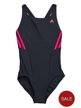 adidas-youth-girls-infinitexnbspthree-stripe-swimsuit