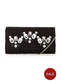 v-by-very-lace-embellished-clutch-bag