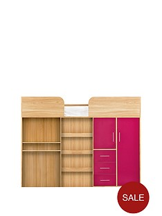 kidspace-ohio-mid-sleeper-bed-withnbspdesk-drawers-wardrobe-and-optional-mattress
