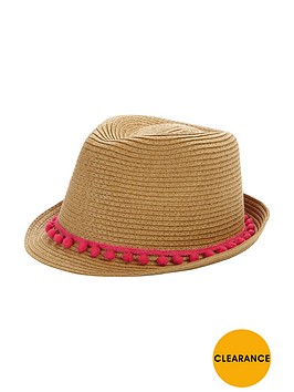 v-by-very-girls-boho-trim-trilby