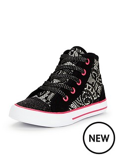 mini-v-by-very-violet-younger-girls-hi-top-plimsolls