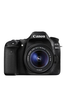 Canon Eos 80D Slr Camera With EfS 1855Mm Lens