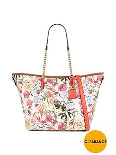 aldo-floral-print-zip-top-shopper