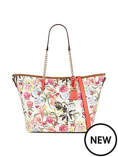 aldo-floral-print-zip-top-shopper